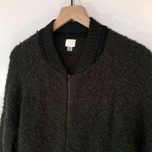A New Day Zip-Up Fuzzy Jacket, XXL